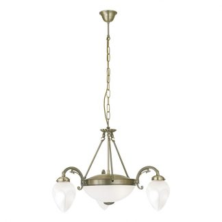 Eglo 82742 IMPERIAL Hanglamp Brons glas
