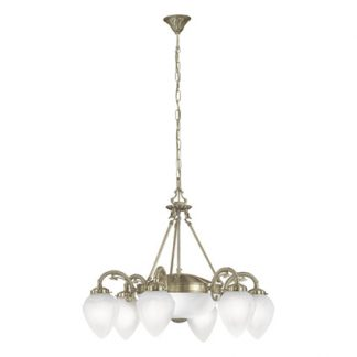 Eglo 82743 IMPERIAL Hanglamp Brons glas