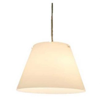 Hanglamp wit opaal glas 30cm